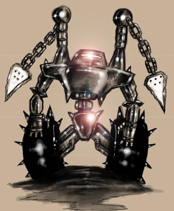 Flail Robot Update