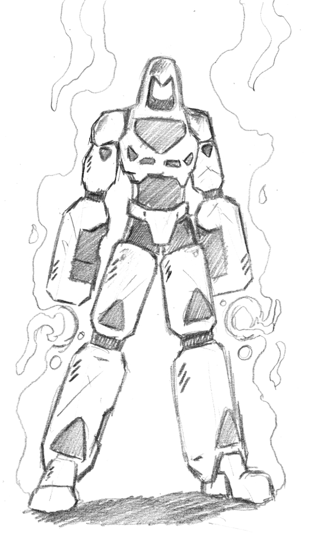 Rough sketch of Force Robot.
