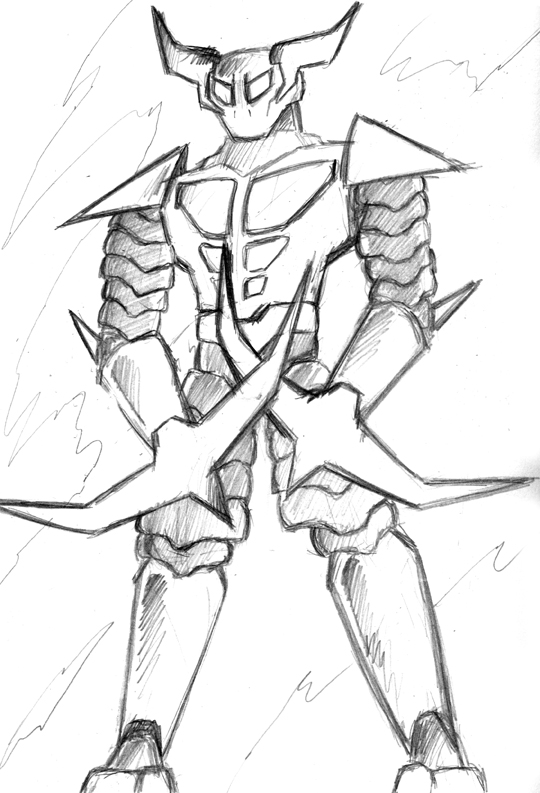 Katana Robot Concept