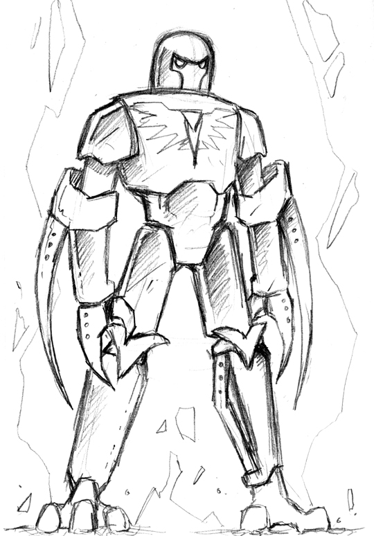 Thorn Sketch