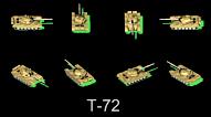 T-72 Russian MBT