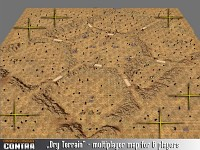Multiplayer map: Dry Terrain