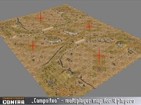 Multiplayer map: Campsites
