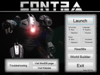 New Contra Launcher