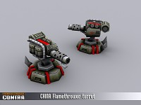 Flamethrower Turret