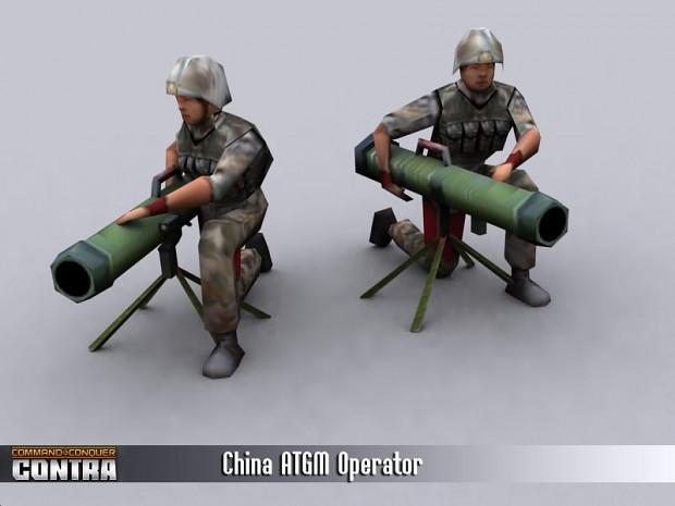 China ATGM Operator