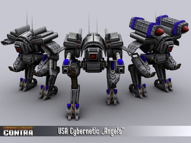 "USA ""Angel"" mech walkers"