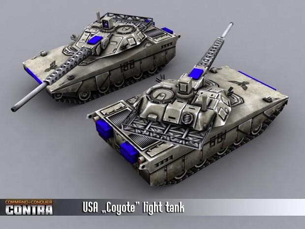 Coyote tank