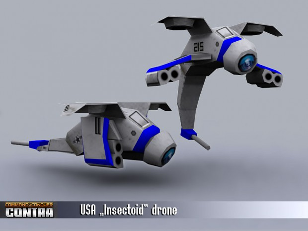 USA Insectoid Drone