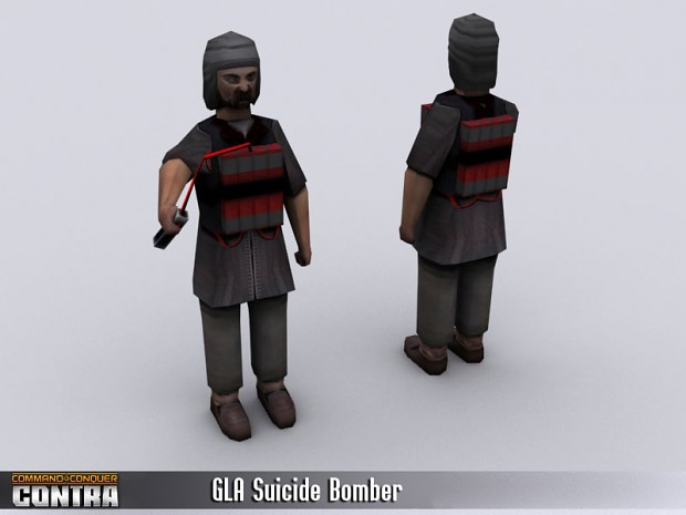 GLA Suicide Bomber