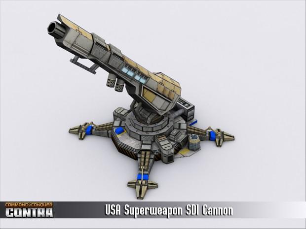 USA SDI Cannon