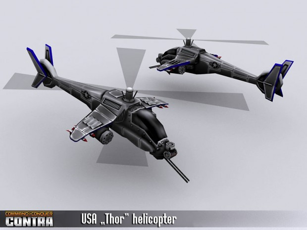 "USA ""Thor"" helicopter"