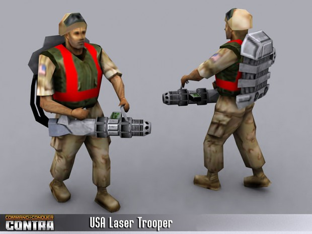 USA Laser Trooper