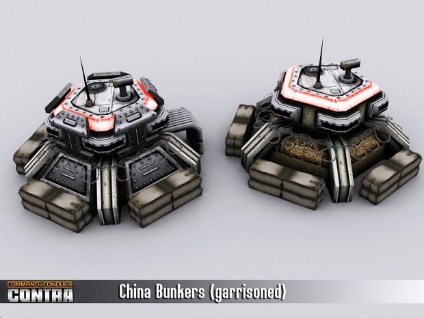 China Bunkers (garrisoned)