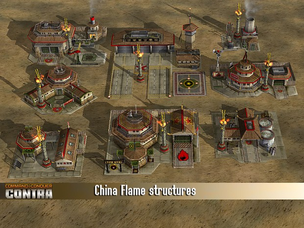 CHINA Flame structures