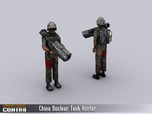 China Nuclear Tank Hunter