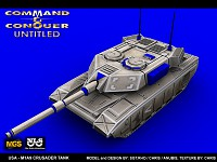 USA Crusader Tank
