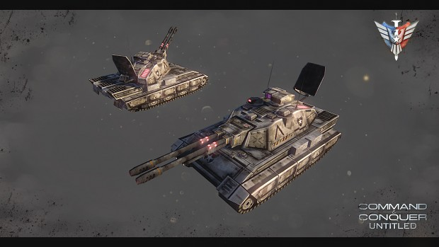 E-100 Nimitz - Heavy Laser AA Tank
