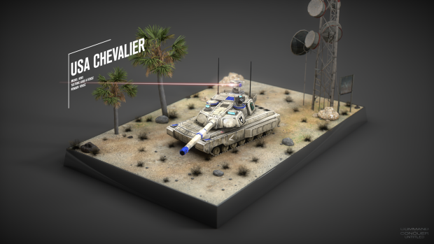 USA Chevalier Tank