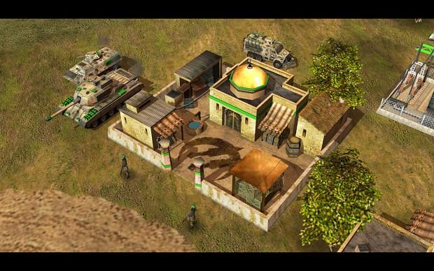 [GLA] Barracks