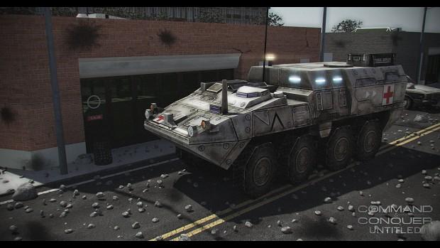 Stryker Ambulance & HAZMAT