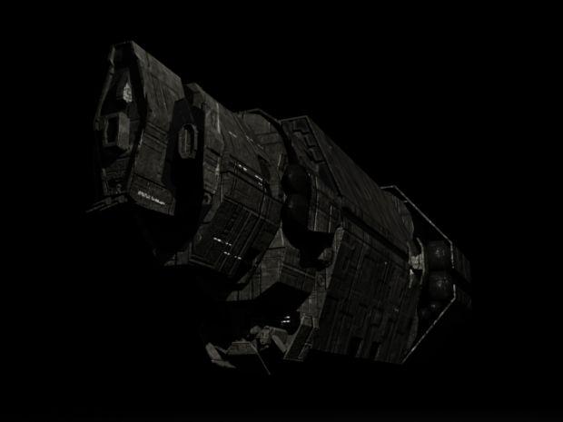 UNSC Halcyon Cruiser Re-Skin