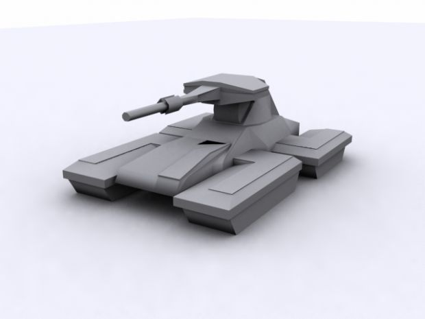 UNSC Scorpion (untextured)