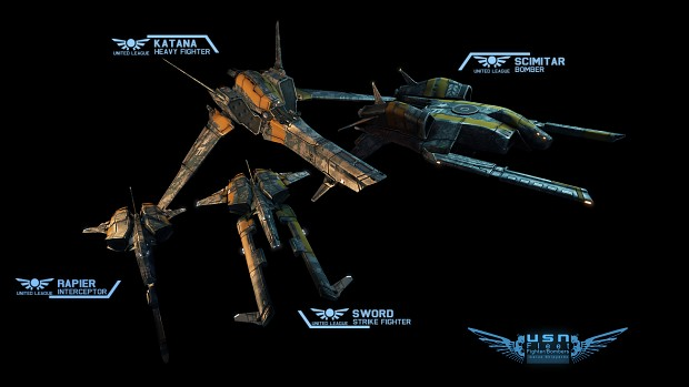 AFF Planetstorm New Fighter Models!