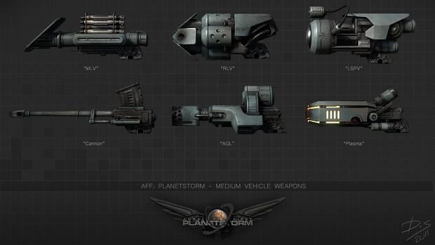 Medium Vechicle Weapons