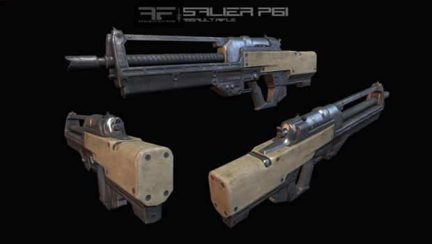 AIA Salier P6i Assault Rifle