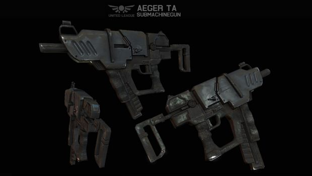 ULA Aeger TA Submachine Gun