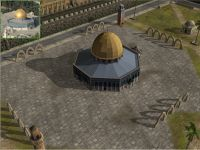 A screenshot from the enhanced Jerusalem map