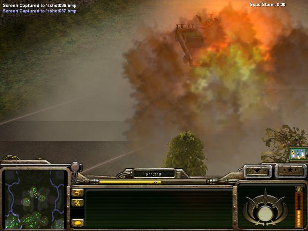 Hezbollah Roadside bomb explosion