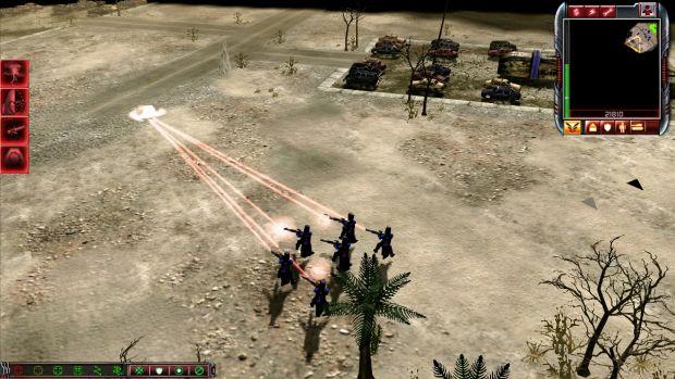 Laser infantry