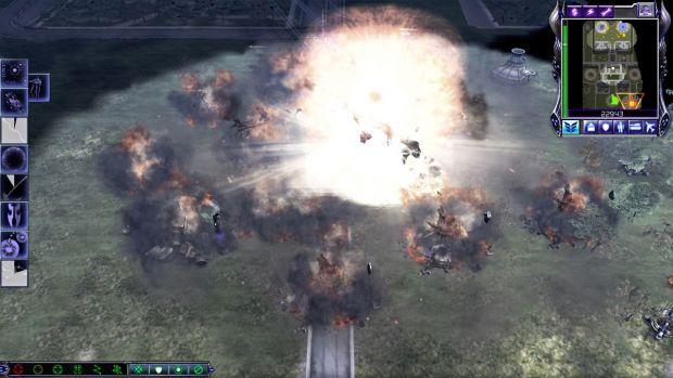 Demo Truck detonation
