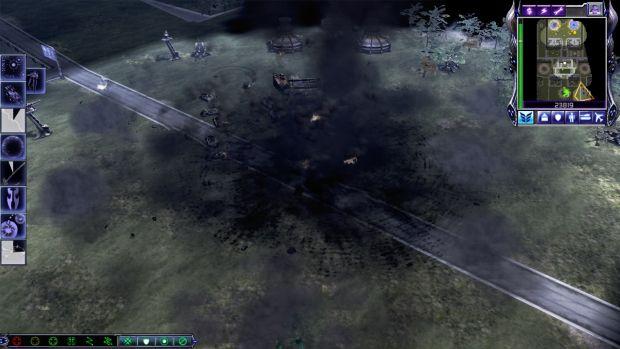 After Demo Truck detonation