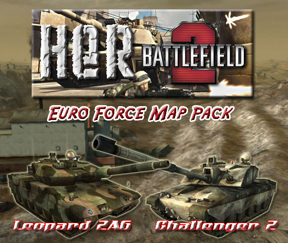Euro Force Map Pack