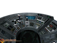 Boba Fett's Slave I Cockpit