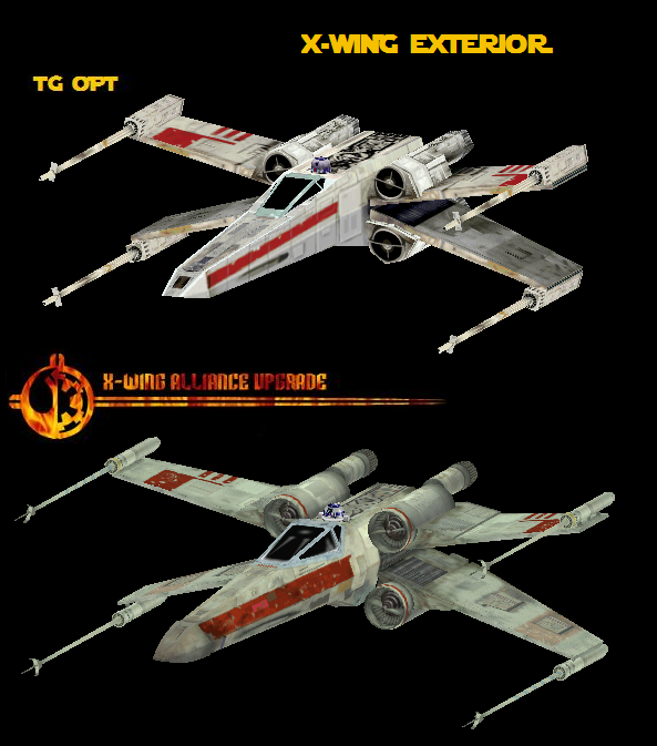The X-Wing Alliance Upgrade ProjectX Wing Alliance