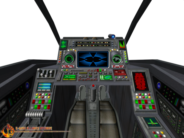 Preybird Fighter Cockpit