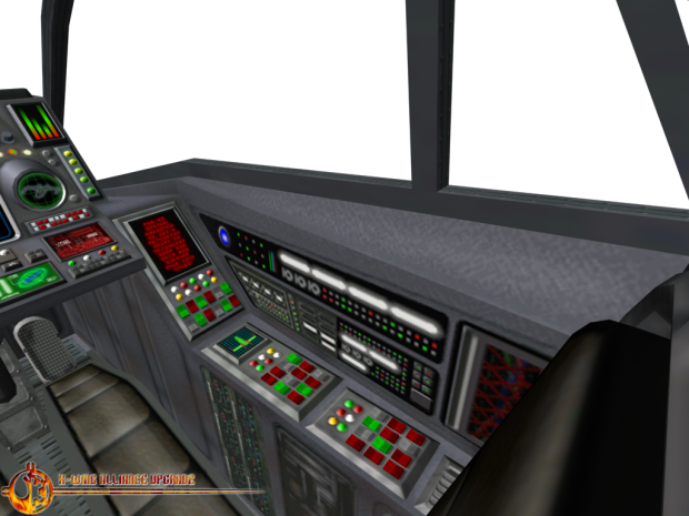 Preybird Fighter Cockpit