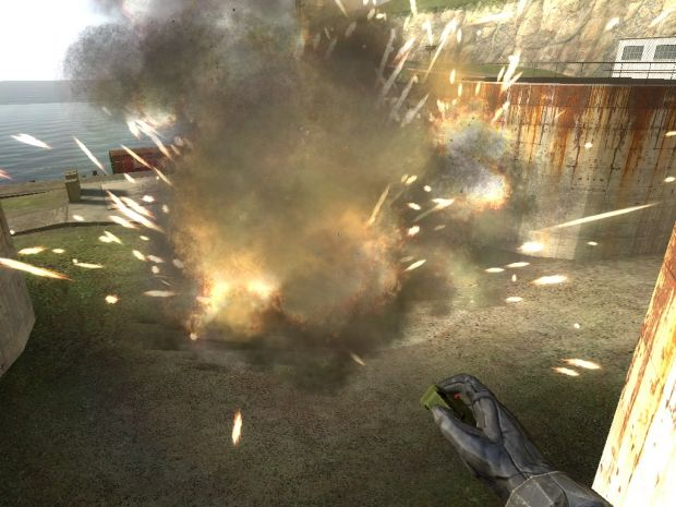 C4 Explosion