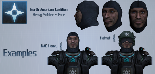 NAC - Heavy Soldier - Face