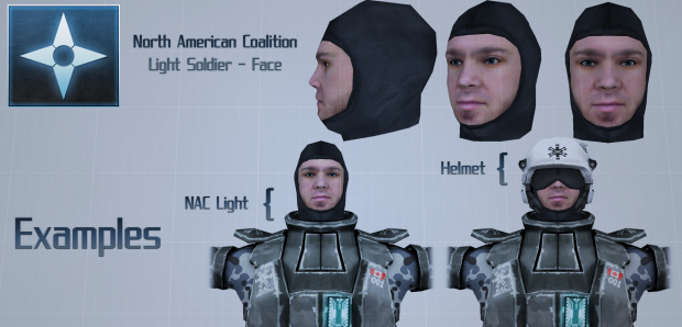 NAC - Light Soldier - Face