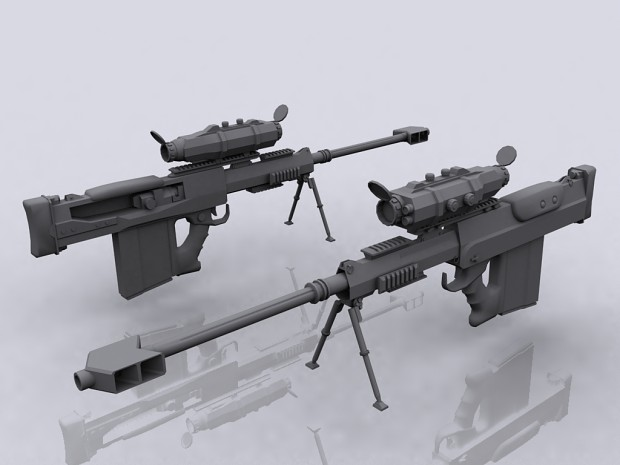 NAC Heavy Sniper Rifle (Zeller Replace) -  WIP #2