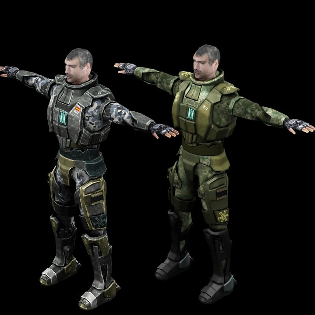 NAC - Light Armoured Soldier - Urban Colours