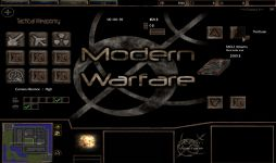 Modern Warfare Menu layout (Alpha)