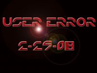 User Error Release Day Logo