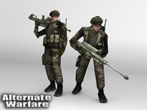 Green Beret Commandos
