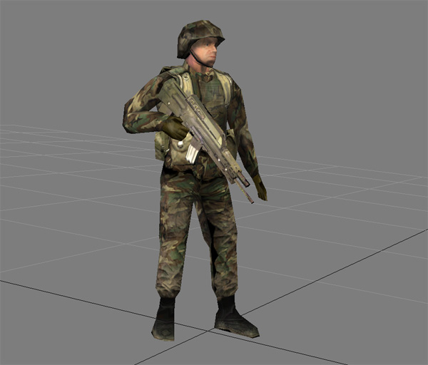OICW soldier
